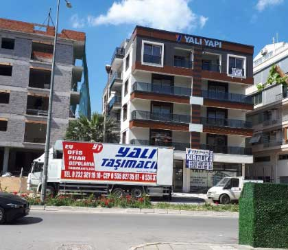 Şehir İçi Nakliyat Hizmetlerimiz - İzmir Yalı Nakliyat.