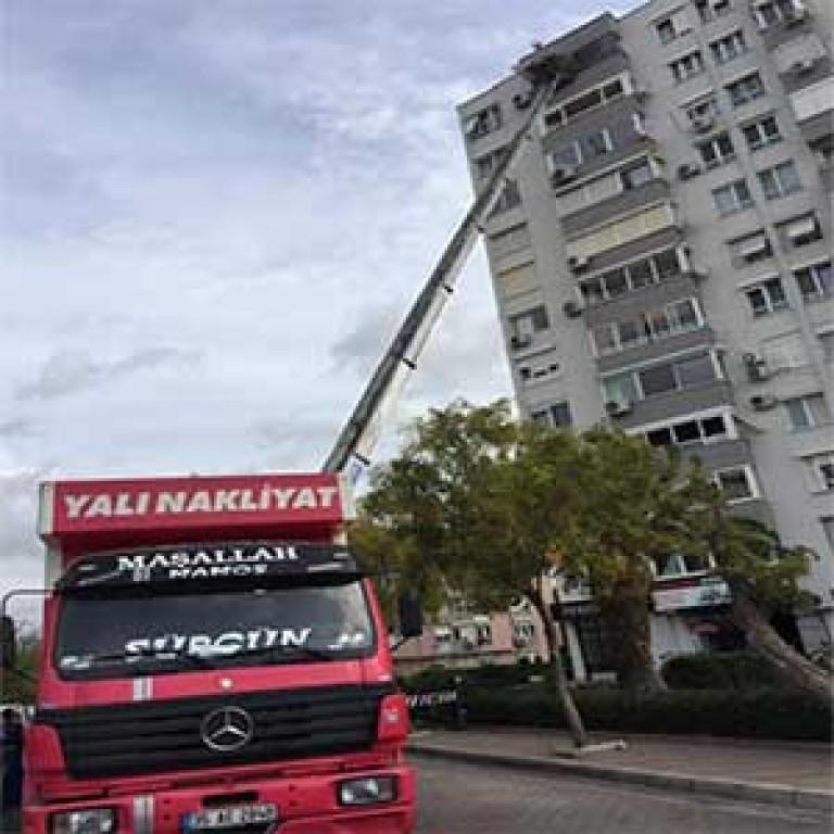 İzmir Asansörlü Nakliyat - İzmir Yalı Nakliyat.